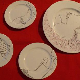 Porcelain paintings